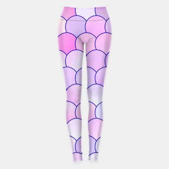 Miniatur Blobs Pattern lp Leggings, Live Heroes