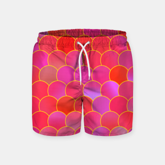 Blobs Pattern ypr Swim Shorts miniature