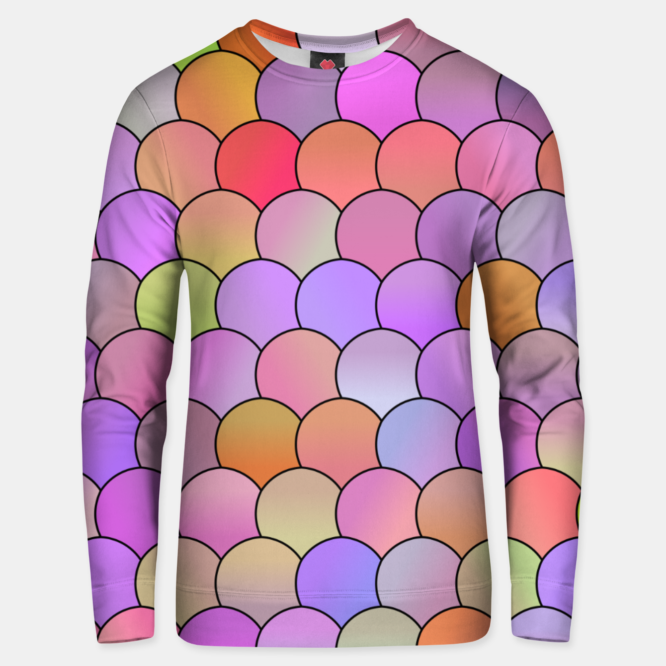 Image of Blobs Pattern Unisex sweater - Live Heroes
