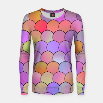 Miniatur Blobs Pattern Women sweater, Live Heroes