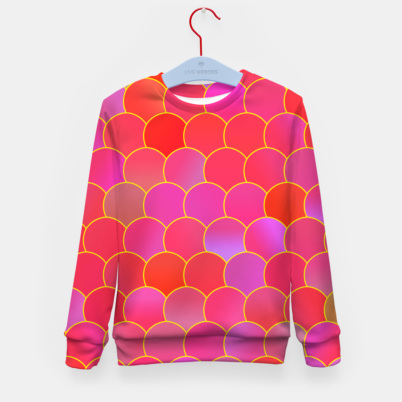 Image of Blobs Pattern ypr Kid's sweater - Live Heroes