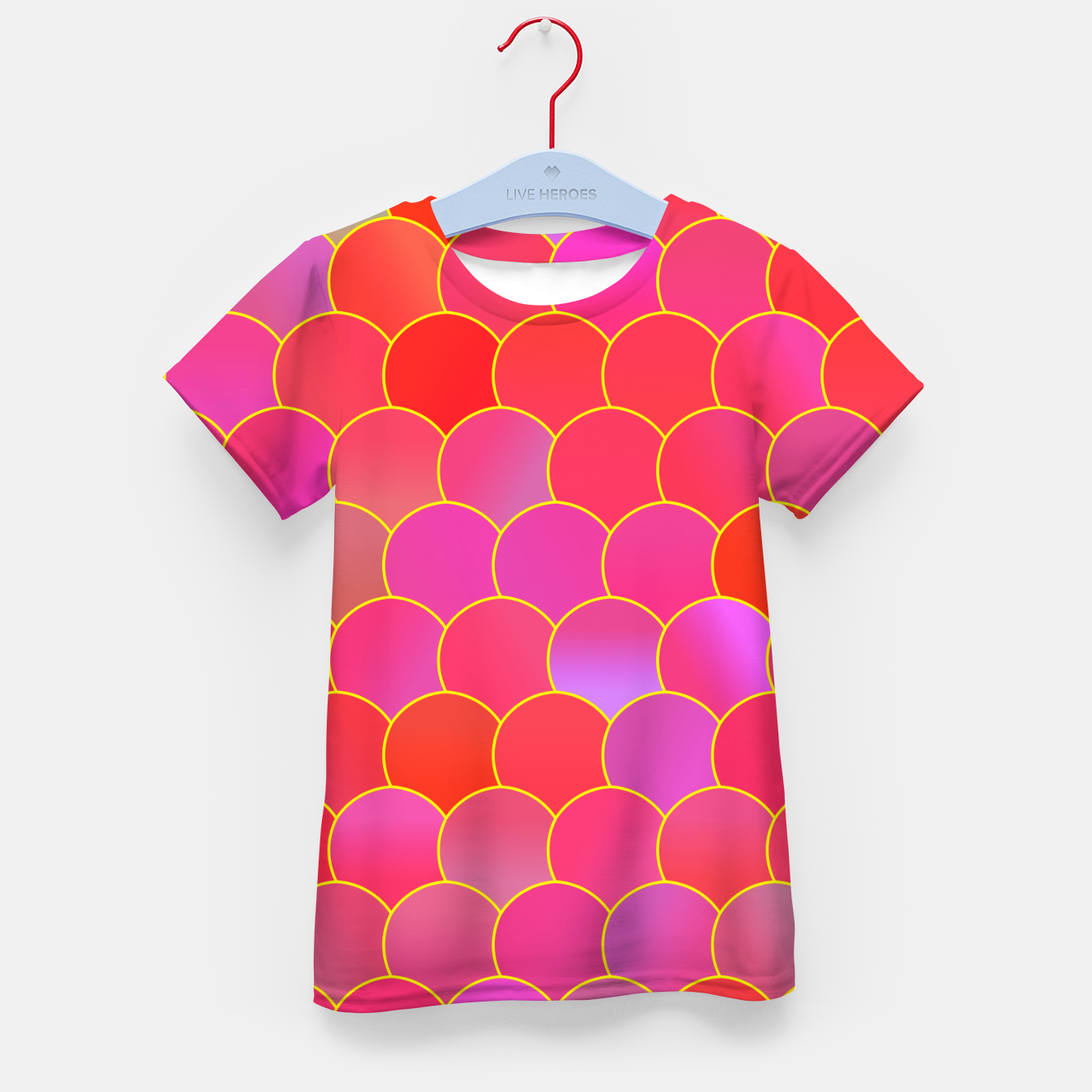 Image of Blobs Pattern ypr Kid's t-shirt - Live Heroes