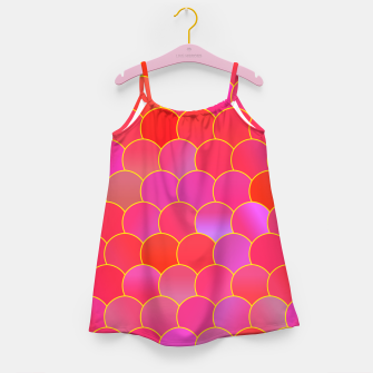 Blobs Pattern ypr Girl's dress thumbnail image