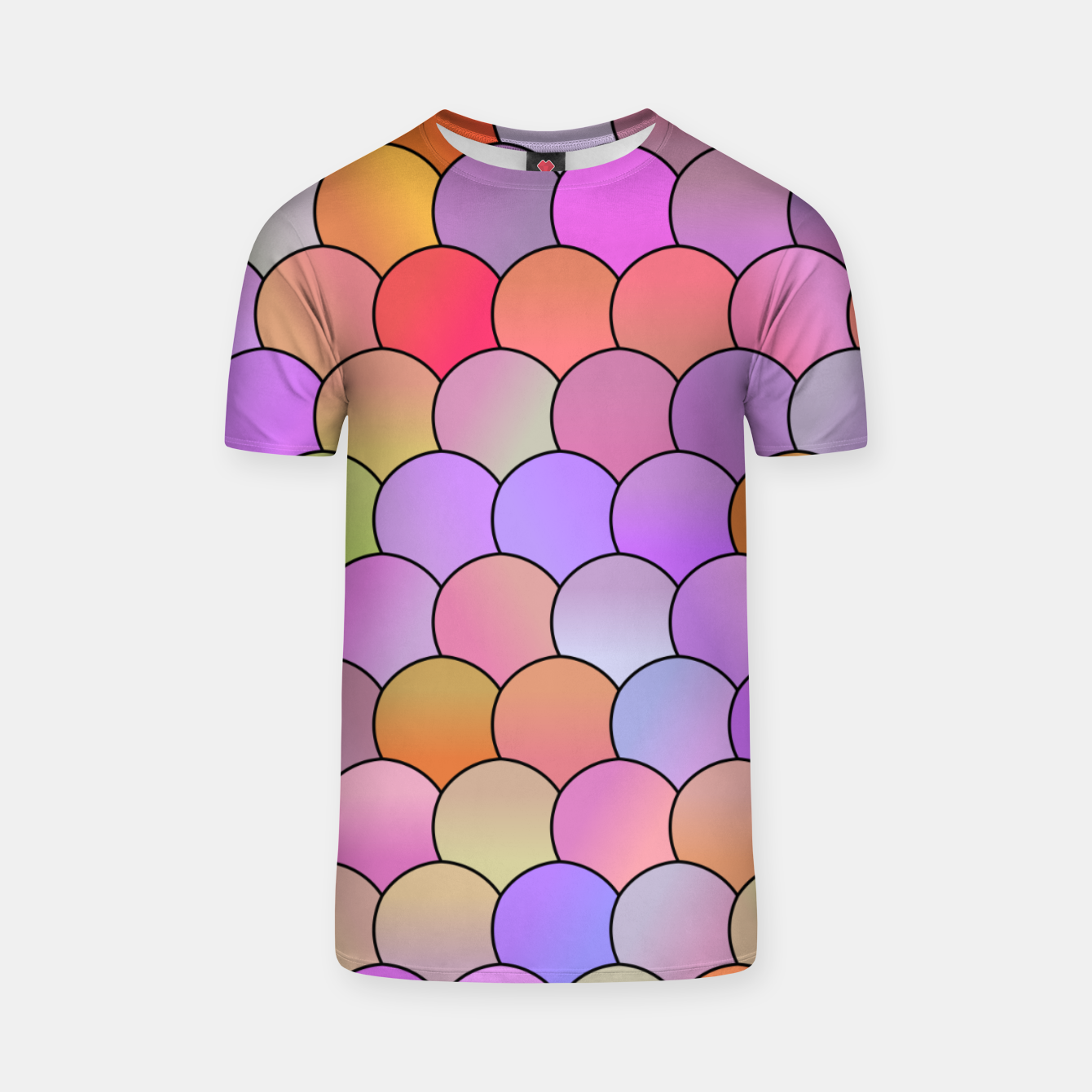 Image of Blobs Pattern T-shirt - Live Heroes