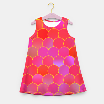 Blobs Pattern ypr Girl's summer dress miniature