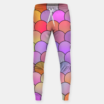 Blobs Pattern Sweatpants miniature