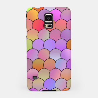 Blobs Pattern Samsung Case miniature