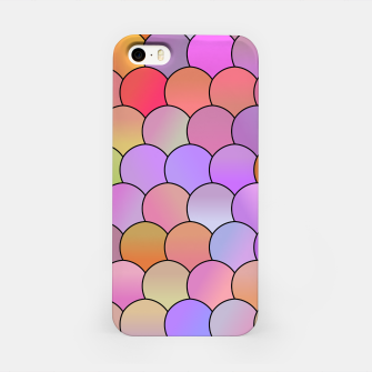 Miniatur Blobs Pattern iPhone Case, Live Heroes