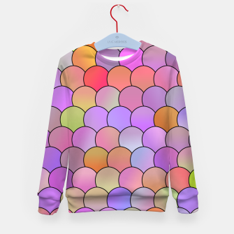 Miniatur Blobs Pattern Kid's sweater, Live Heroes