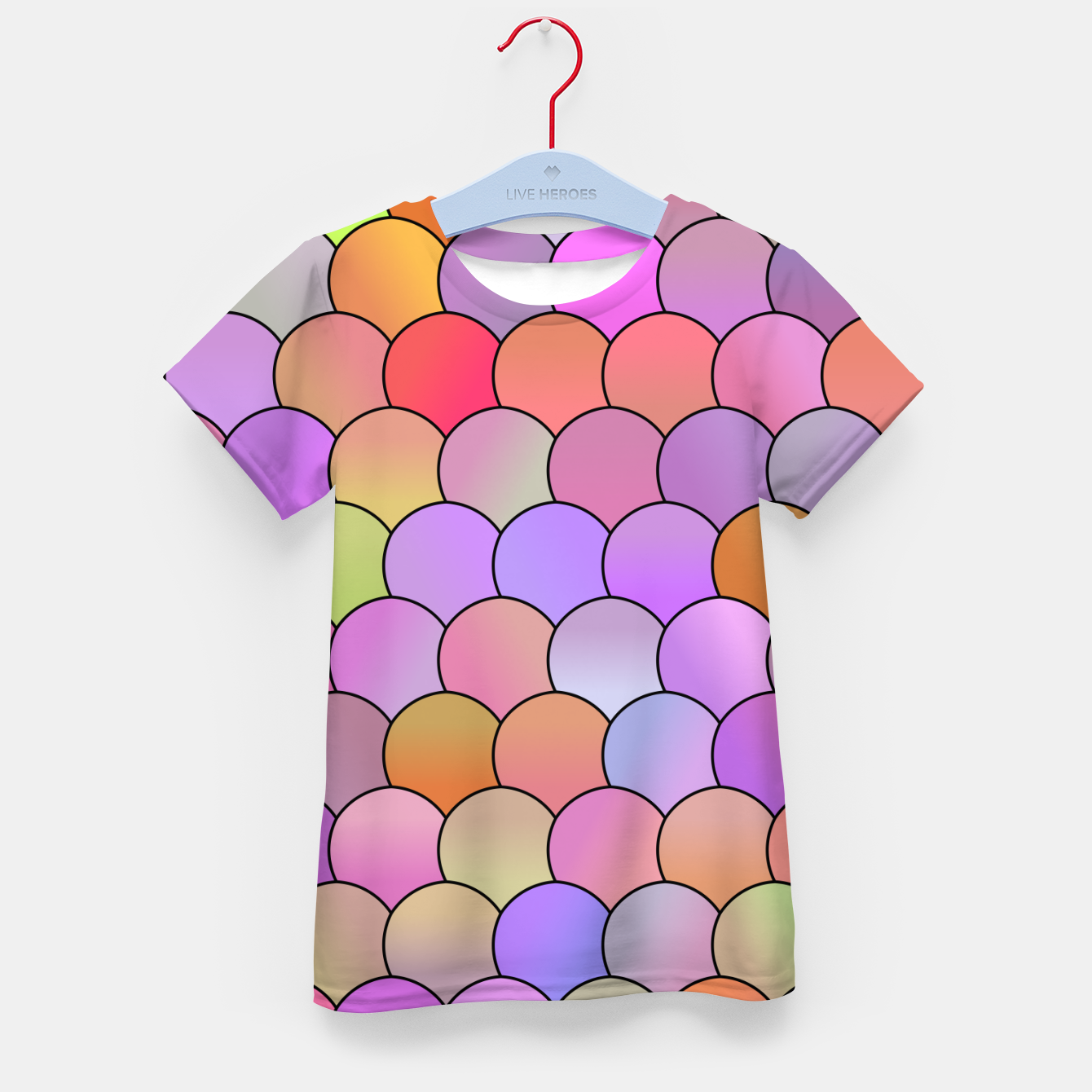 Image of Blobs Pattern Kid's t-shirt - Live Heroes