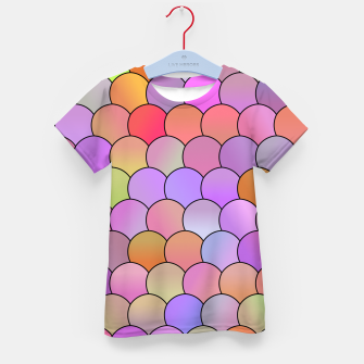 Thumbnail image of Blobs Pattern Kid's t-shirt, Live Heroes