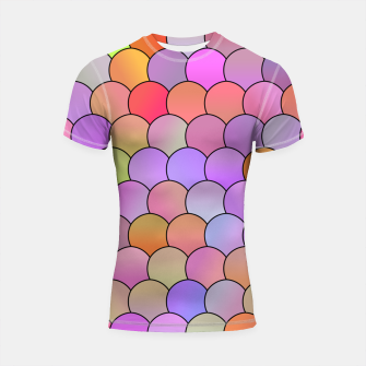 Blobs Pattern Shortsleeve rashguard miniature