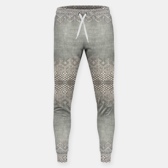Miniatur Farmhouse Traditional African Boho Style  Sweatpants, Live Heroes