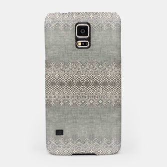 Miniatur Farmhouse Traditional African Boho Style  Samsung Case, Live Heroes