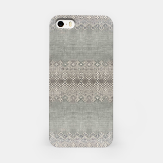 Miniatur Farmhouse Traditional African Boho Style  iPhone Case, Live Heroes