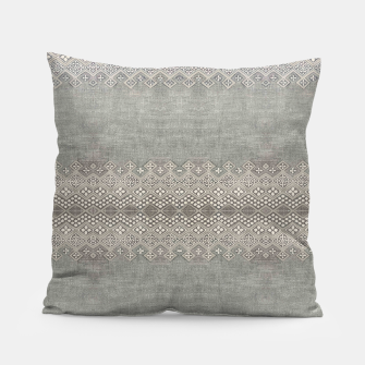 Miniatur Farmhouse Traditional African Boho Style  Pillow, Live Heroes