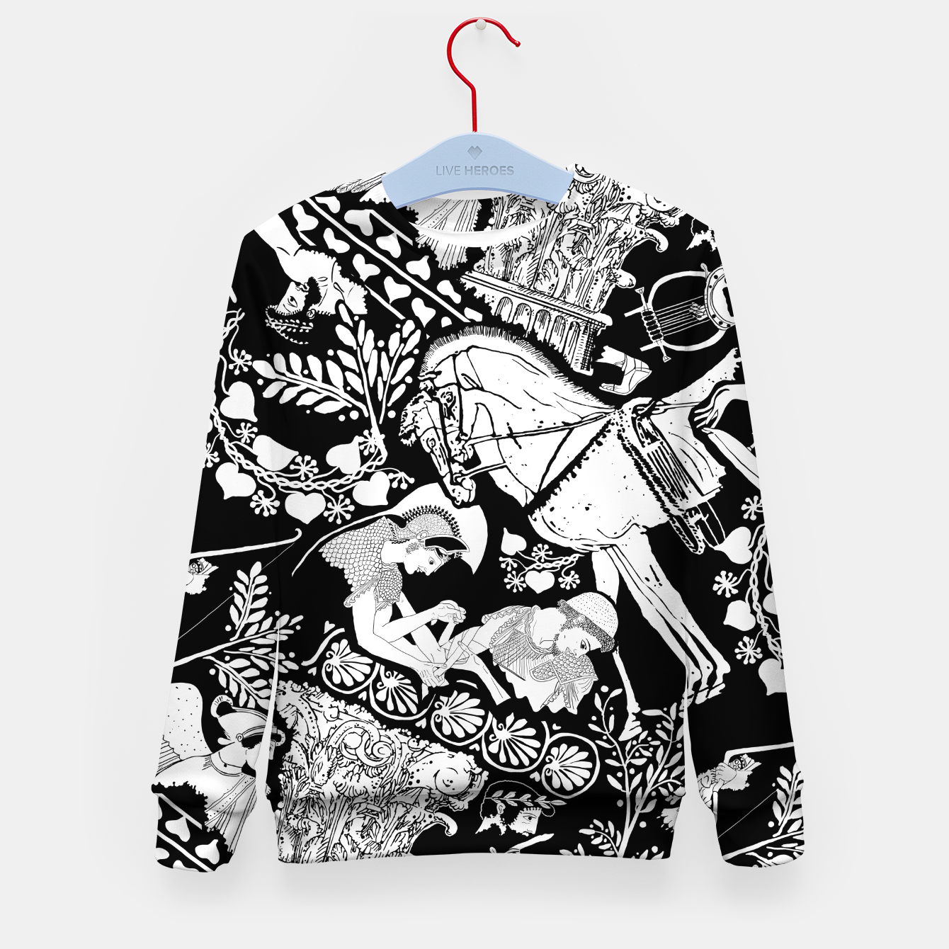 Image of Alcinous Kids sweater - Live Heroes