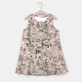 Miniaturka Wild Future pink Kids Summer Dress, Live Heroes