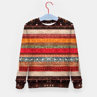 Thumbnail image of Bohemian Traditional Moroccan Style Kid's sweater, Live Heroes