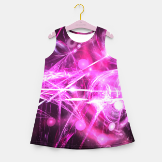 Imagen en miniatura de Blooming lilac Girl's summer dress, Live Heroes