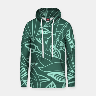 Thumbnail image of Minimal Jungle - tropical leaves Hoodie, Live Heroes