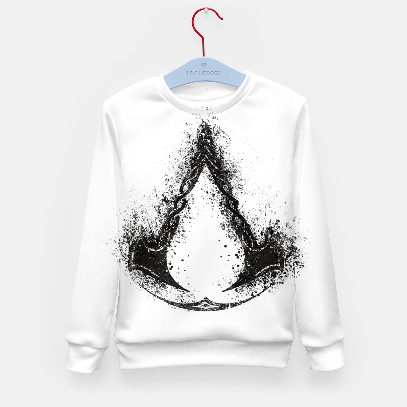 Image of assassin's creed valhalla Kid's sweater - Live Heroes