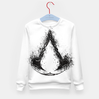 assassin's creed valhalla Kid's sweater obraz miniatury