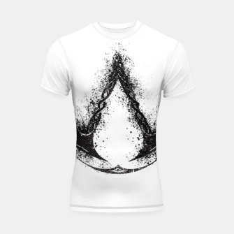 Thumbnail image of assassin's creed valhalla Shortsleeve rashguard, Live Heroes