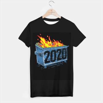 Thumbnail image of Dumpster Fire T-shirt regular, Live Heroes
