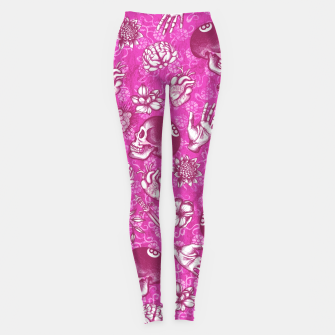 Thumbnail image of Pink Eight Ball Leggings, Live Heroes