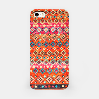 Thumbnail image of Bohemian Traditional Moroccan Style Illustration iPhone Case, Live Heroes