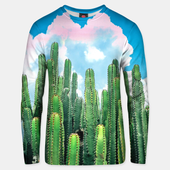Thumbnail image of Cactus Summer Unisex sweater, Live Heroes