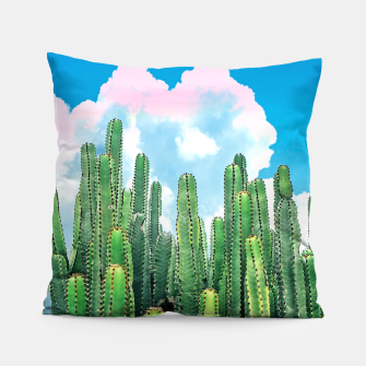Thumbnail image of Cactus Summer Pillow, Live Heroes