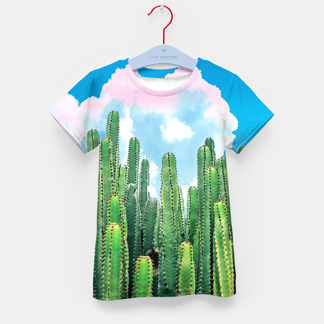 Image of Cactus Summer Kid's t-shirt - Live Heroes