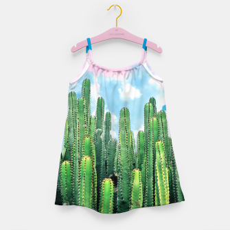 Miniatur Cactus Summer Girl's dress, Live Heroes