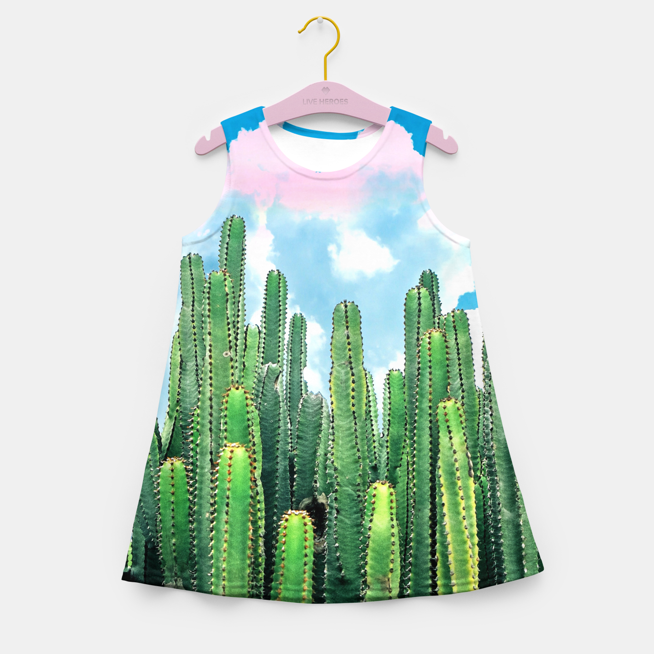 Image of Cactus Summer Girl's summer dress - Live Heroes