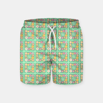 Miniature de image de Fuck This Shit - with cuteness Swim Shorts, Live Heroes