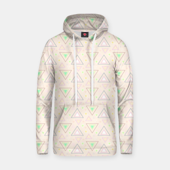Thumbnail image of Bubble gum pink summer mornings, pastel colors geometric pattern Hoodie, Live Heroes