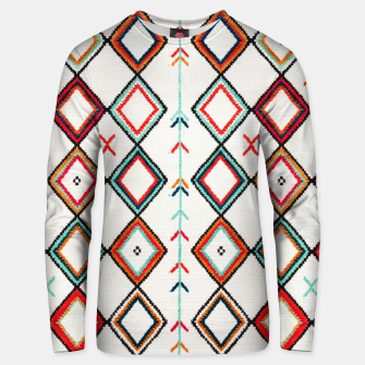 Thumbnail image of Traditional Oriental Moroccan Farmhouse Style Design Unisex sweater, Live Heroes