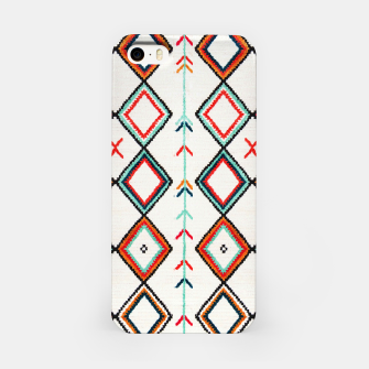 Miniatur Traditional Oriental Moroccan Farmhouse Style Design iPhone Case, Live Heroes