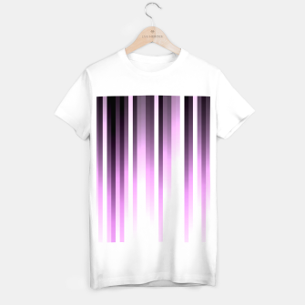 Thumbnail image of Ultra violet madness, dark shades lines print  T-shirt regular, Live Heroes