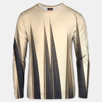 Thumbnail image of Palm leaf soft colors photography Unisex sweater, Live Heroes