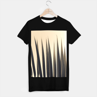 Thumbnail image of Palm leaf soft colors photography T-shirt regular, Live Heroes