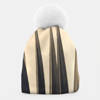 Thumbnail image of Palm leaf soft colors photography Beanie, Live Heroes