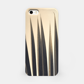 Thumbnail image of Palm leaf soft colors photography iPhone Case, Live Heroes