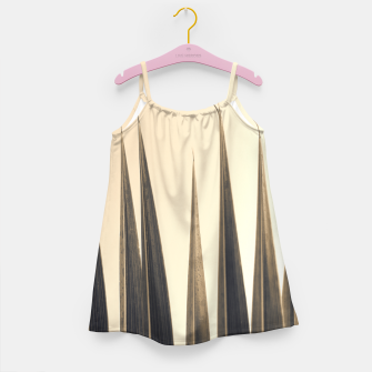 Thumbnail image of Palm leaf soft colors photography Girl's dress, Live Heroes
