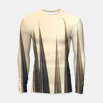 Thumbnail image of Palm leaf soft colors photography Longsleeve rashguard , Live Heroes