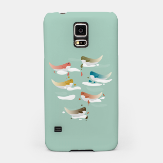 Miniaturka Whales fly in 1970 Samsung Case, Live Heroes