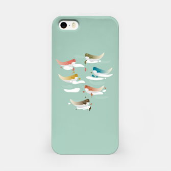Miniaturka Whales fly in 1970 iPhone Case, Live Heroes