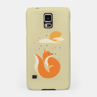Thumbnail image of Foxy felt with the heart Samsung Case, Live Heroes
